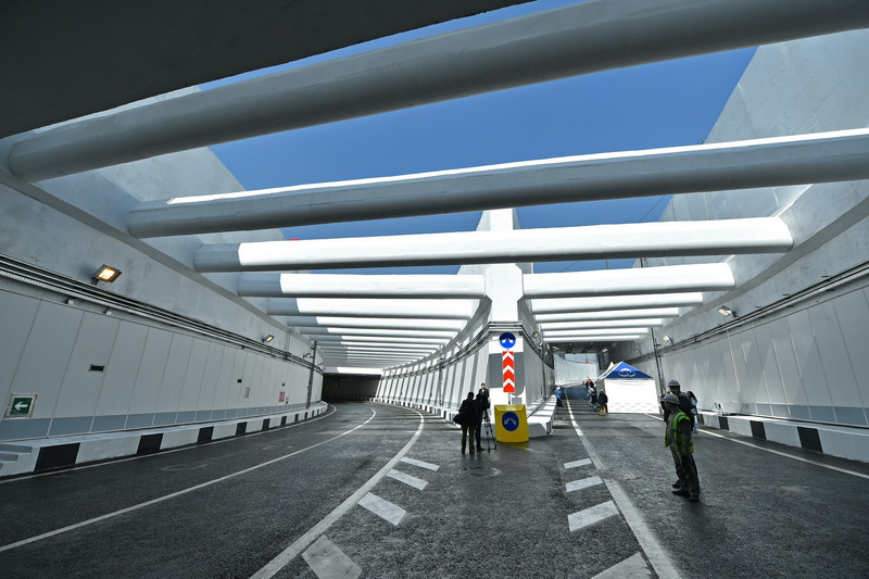 Тоннель на пересечении МКАД с Дмитровским шоссе