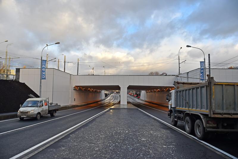 Тоннель на пересечении Волгоградского проспекта с Люблинской улицей
