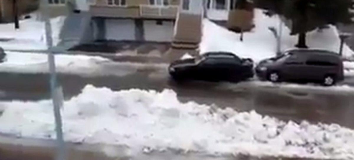 Уборка снега в США