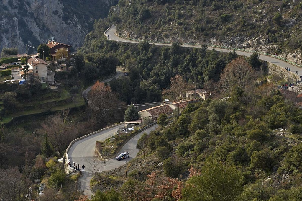 Volkswagen Polo R WRC на ралли в Монте-Карло