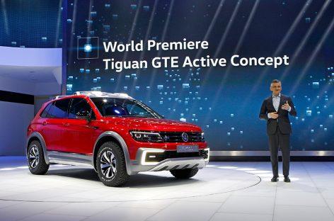 Volkswagen представил новый гибридный кроссовер