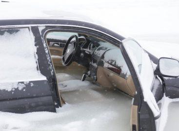 Touareg во льдах