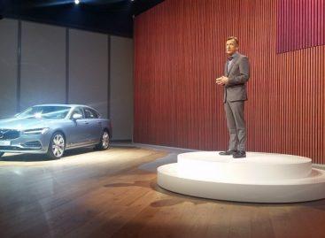 Volvo S90 – роскошный и инновационный
