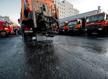 Дороги Москвы будут обрабатывать новыми реагентами