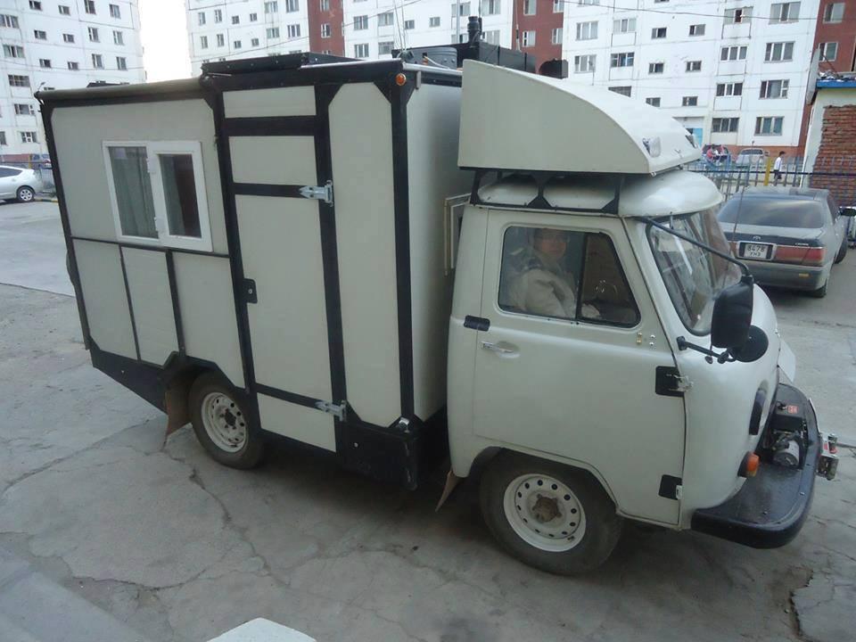 Автодом на базе УАЗ