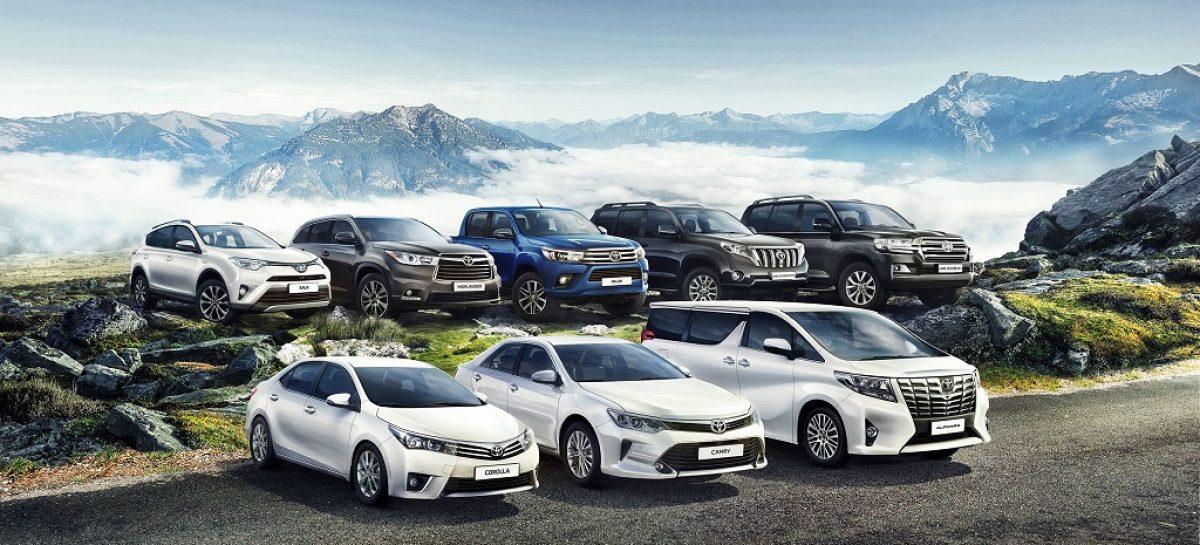 Toyota лидирует по сохранению остаточной стоимости