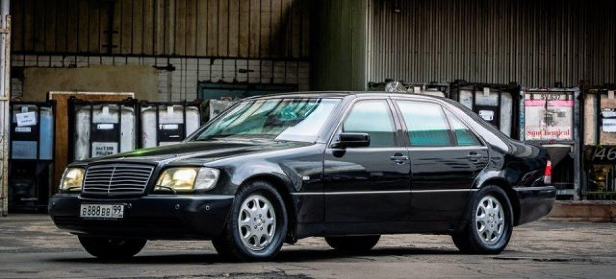 Бронированный Mercedes-Benz W140 S600