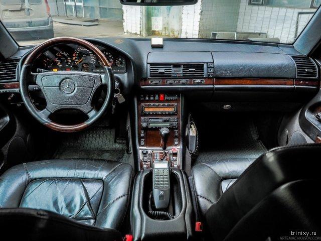 Бронированный Mercedes-Benz W140 S600 L Guard 1999 года