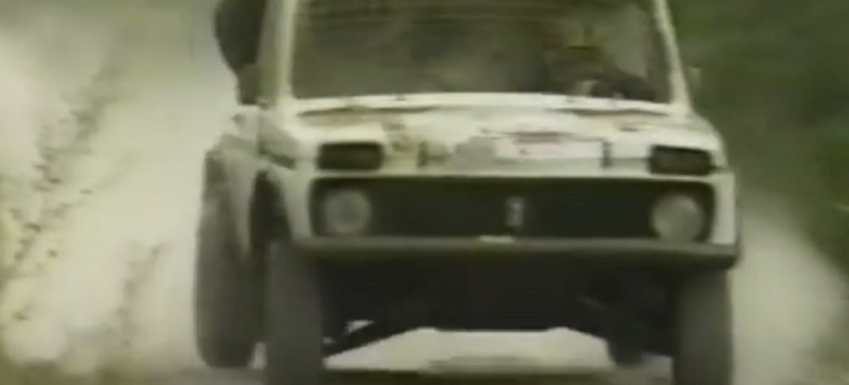 Нива с двигателем Ferrari