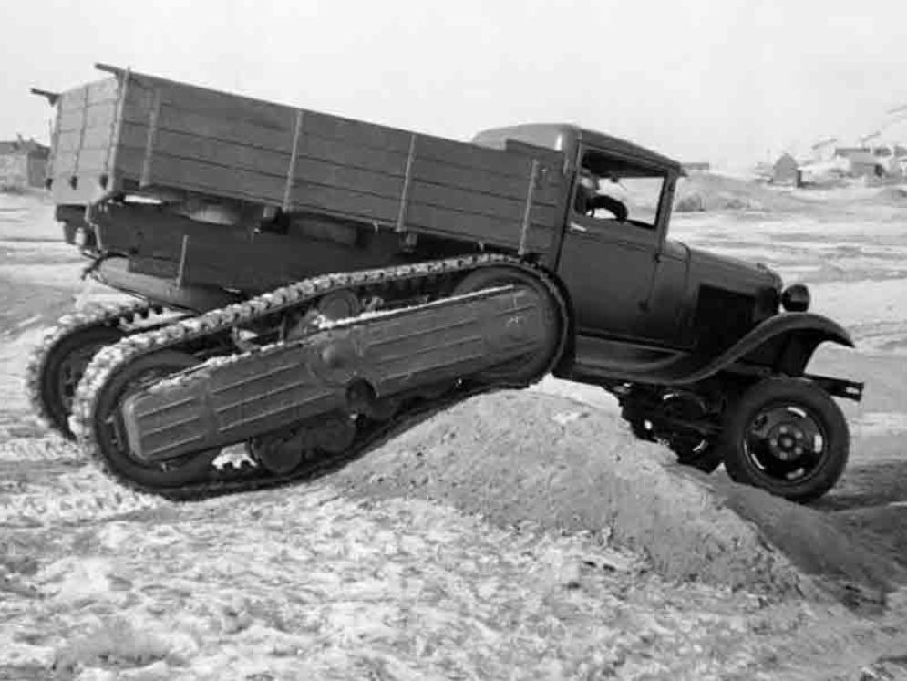 Грузовик-вездеход ГАЗ-60