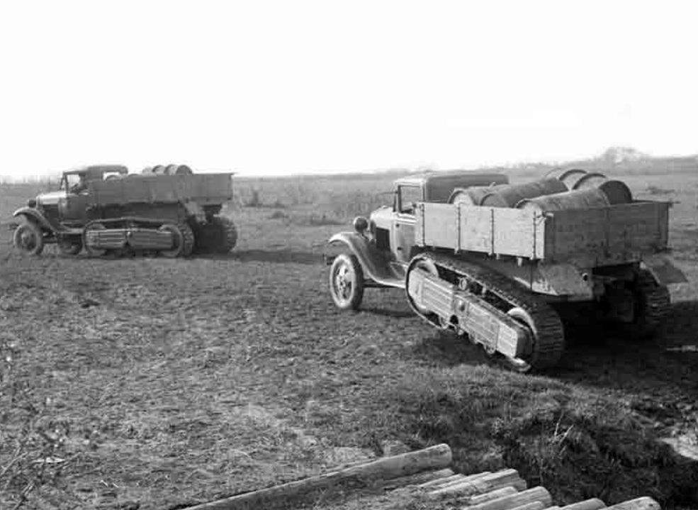 Грузовик-вездеход ГАЗ-60П