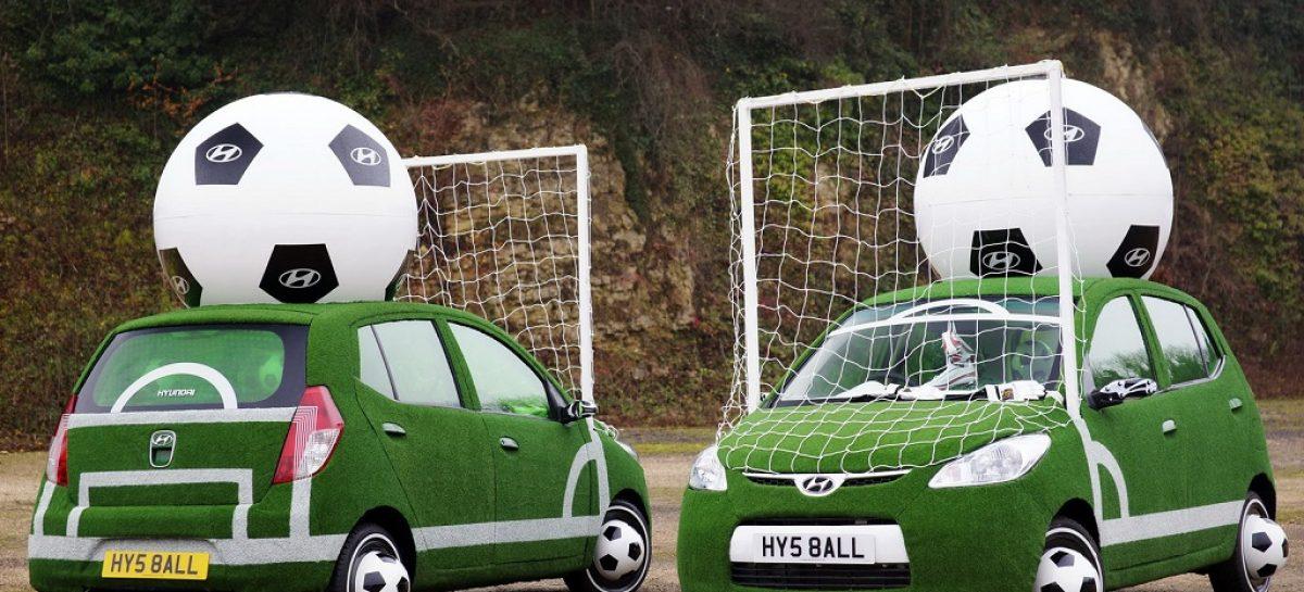 Hyundai объявляет конкурс для футбольных фанатов