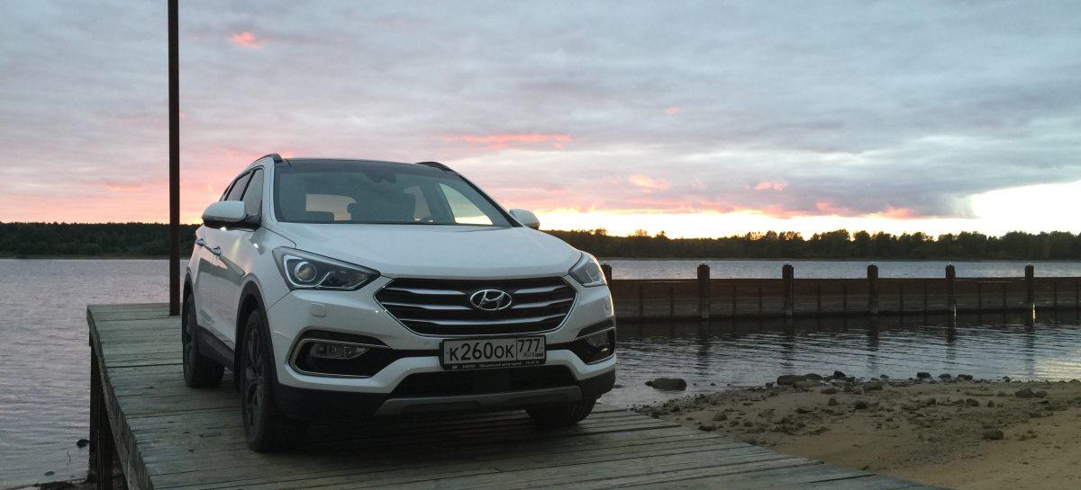 Hyundai Santa Fe – антикризисный Premium
