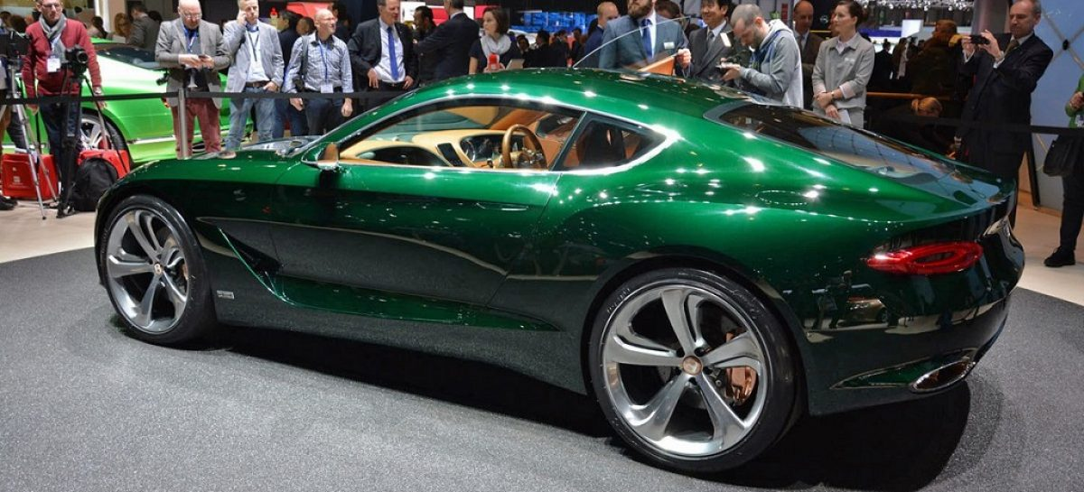 Bentley может заняться электрокарами