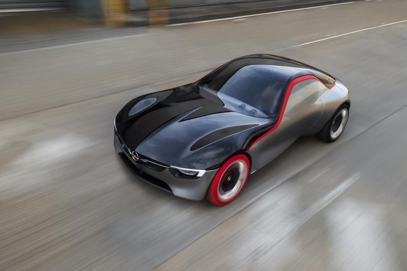 Концепткар Opel GT