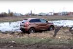 Lada XRay застревает на ровном месте