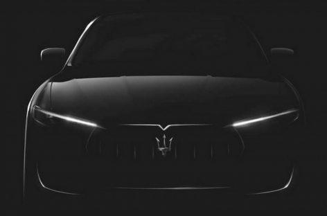 Maserati начал рассекречивать серийный Levante