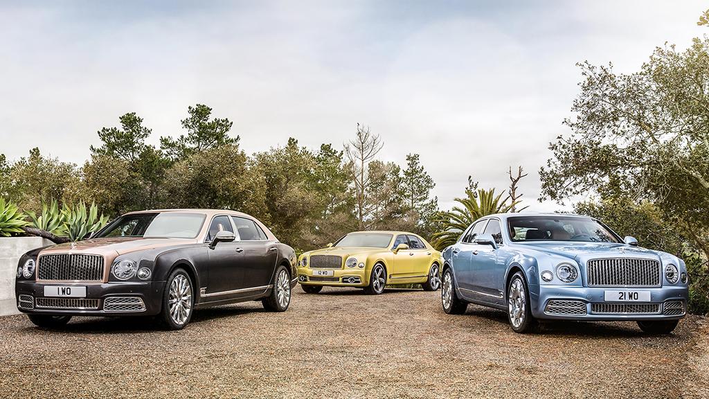 Модельный ряд Bentley Mulsanne