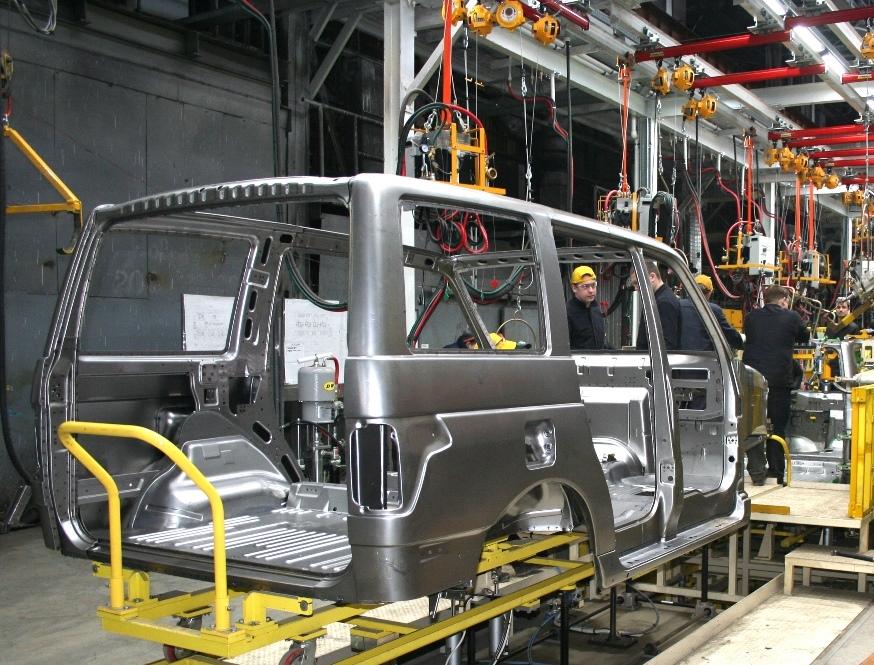 Модернизация производства УАЗ Патриот