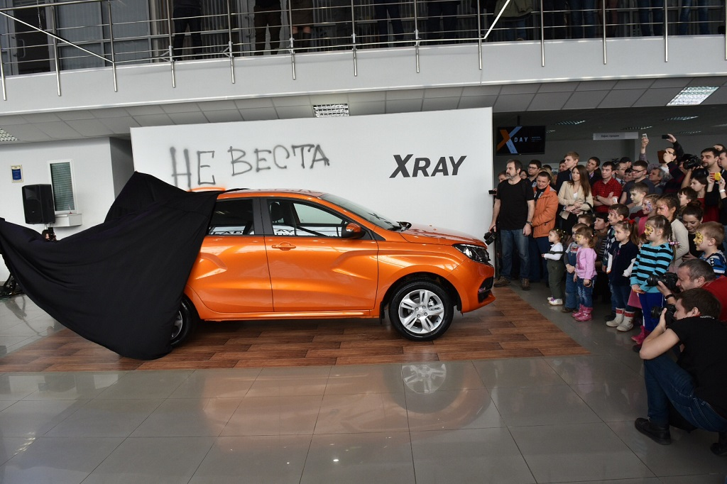 Начало продаж Lada XRay