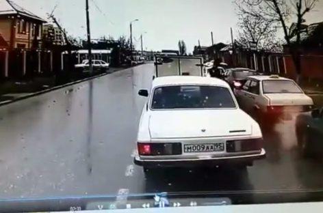 Нелепая авария