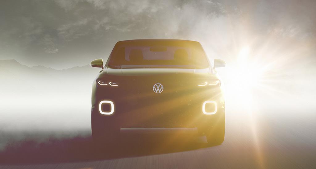 Новый концептуальный кроссовер Volkswagen