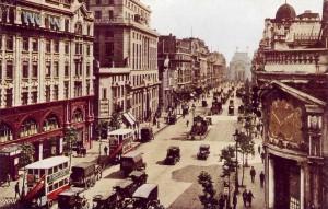 Первые автомобили в Лондоне