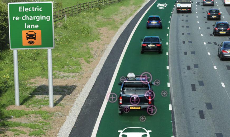 Подзаряжающие дороги