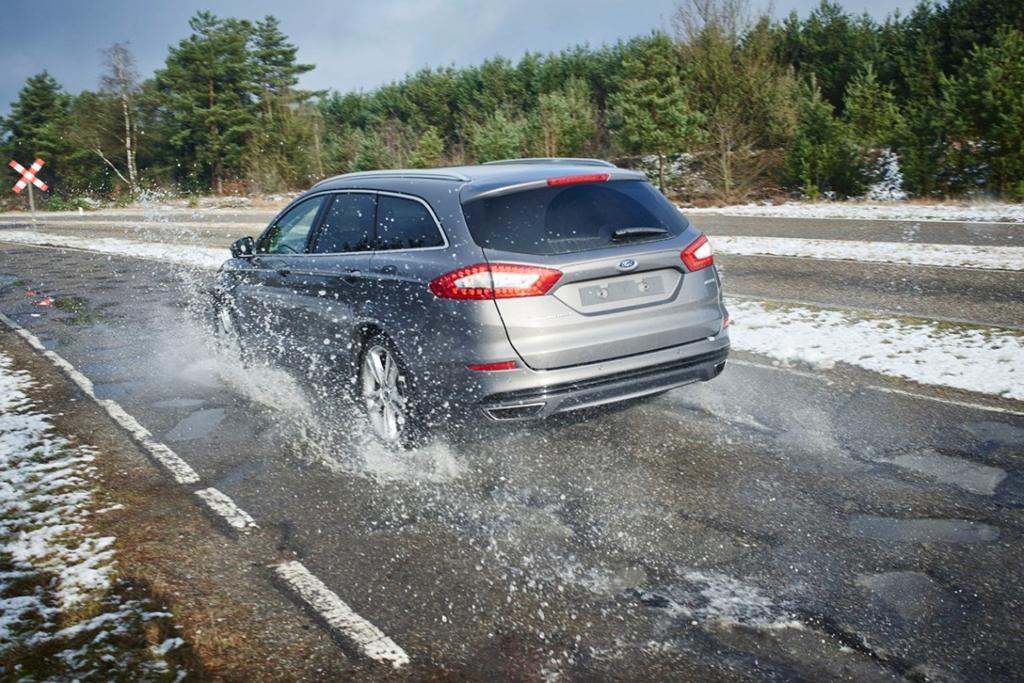 Полигон Ford с имитацией худших дорог мира