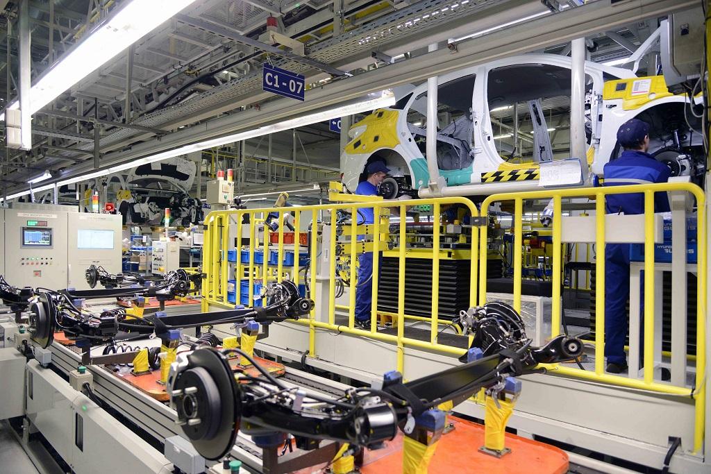 Производственные линии для Hyundai Creta