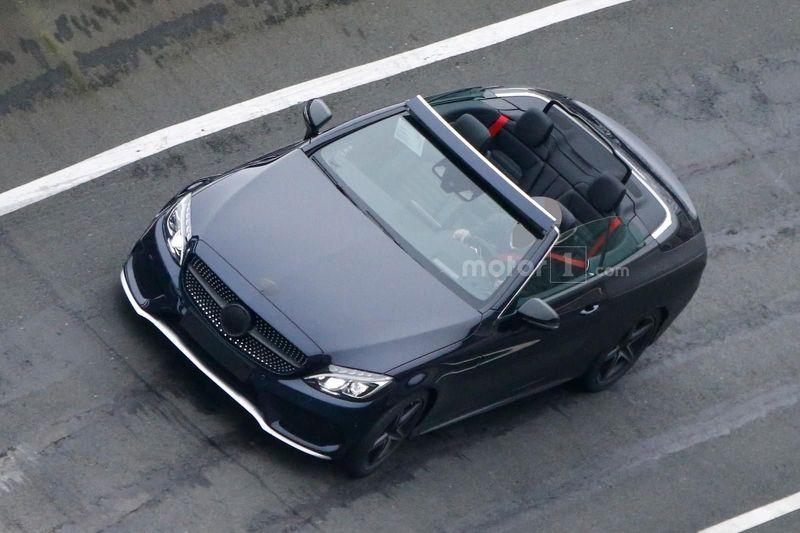 Прототип кабриолета Mercedes C-Class
