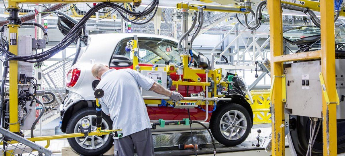 Daimler начал производство нового Smart Fortwo