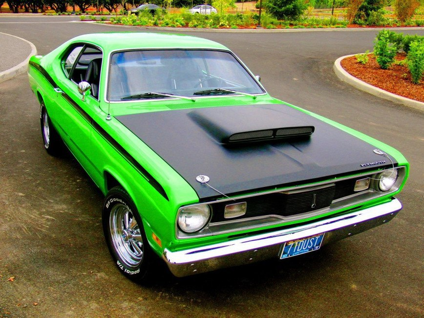 Спасение Plymouth Duster