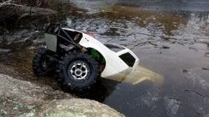Toyota Hilux подо льдом
