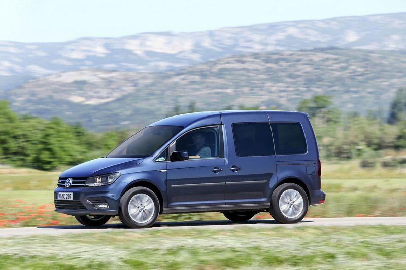 Volkswagen Caddy на природном газе