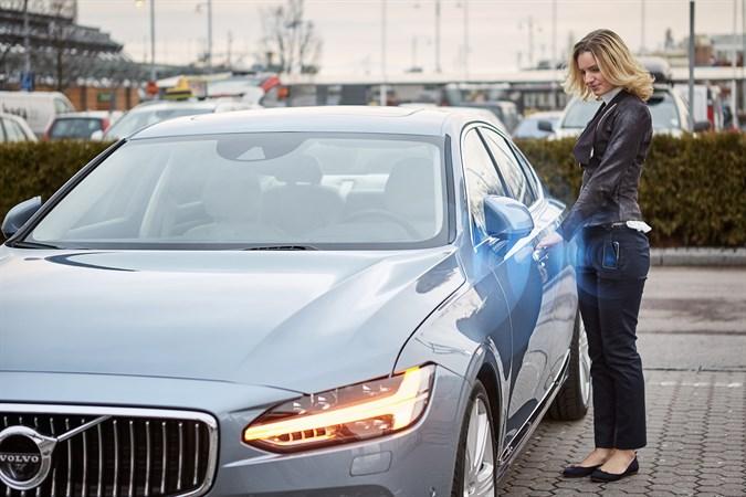Volvo с цифровыми ключами
