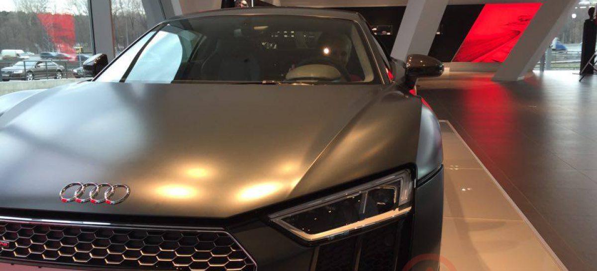 Весна в Audi