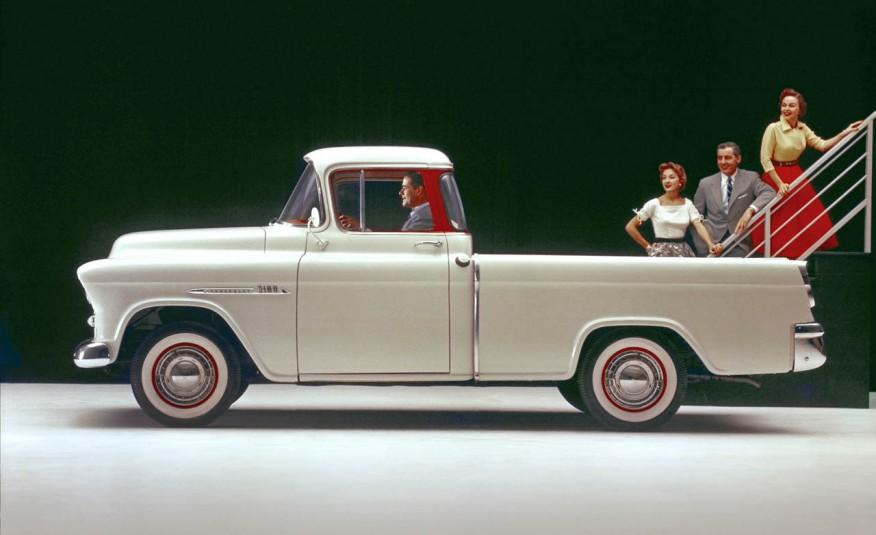 Chevrolet Cameo Carrier 1955 года