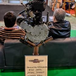 Бесценный двигатель мотоцикла NSU 1904 года
