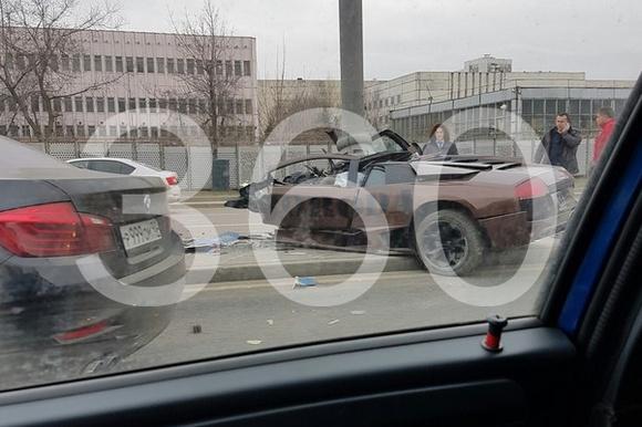 ДТП с участием Lamborghini Murcielago