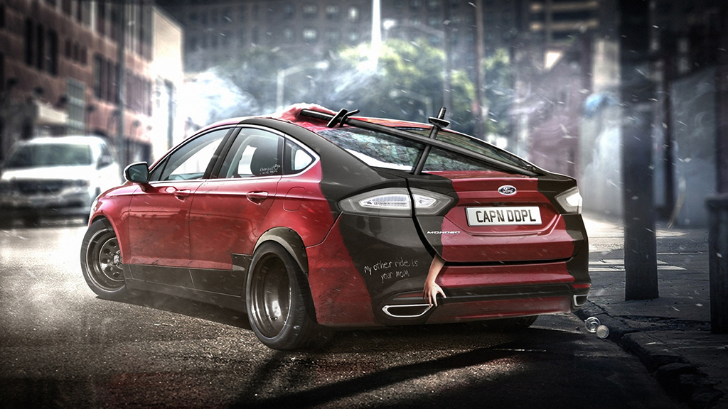 Deadpool - Ford Mondeo