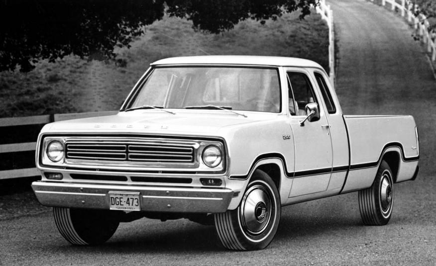 Dodge Club Cab 1973 года
