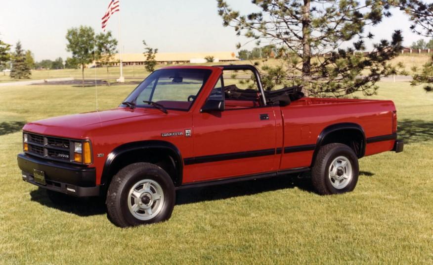 Dodge Dakota 1989–91 годов