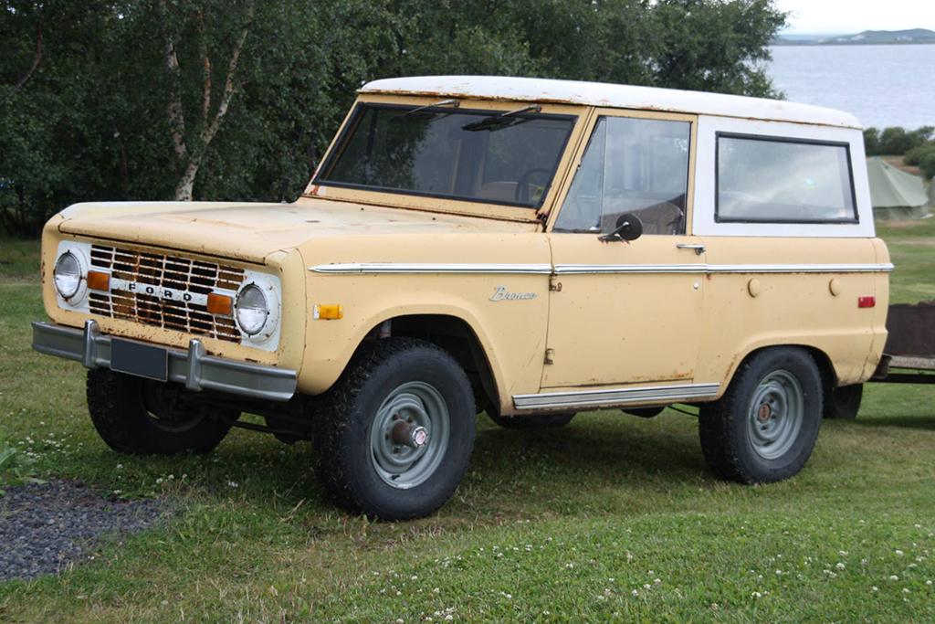 Ford Bronco 1980 года