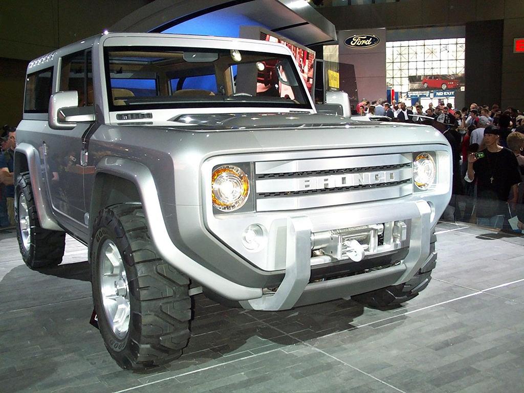 Ford Bronco. Концепт 2004 года