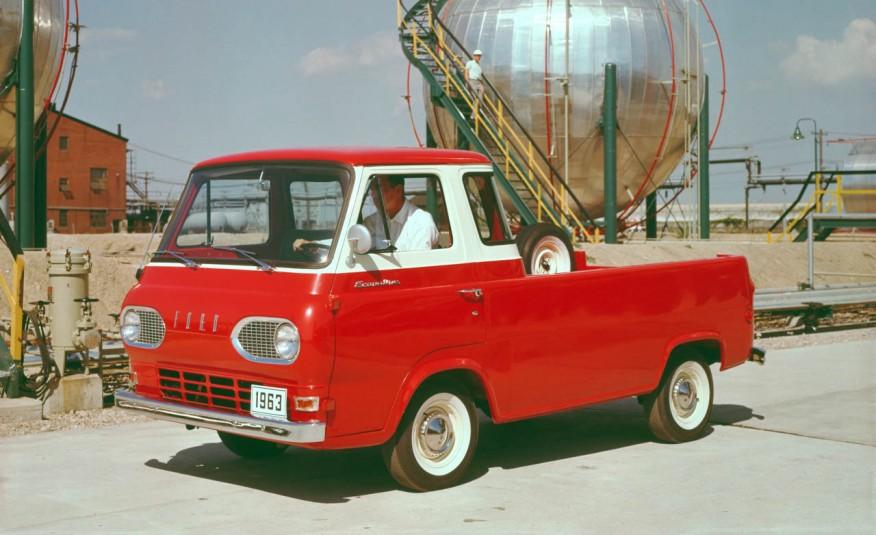 Ford Econoline 1963 года