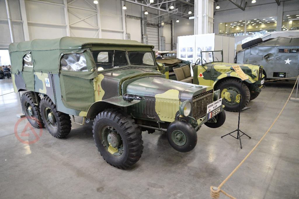 Hotchkiss/Laffly W15T 1936 года. Моторы войны