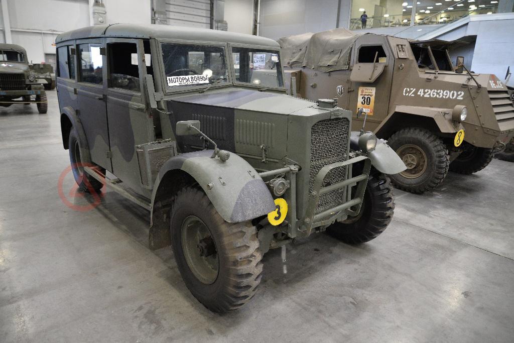 Humber FWD. Моторы войны