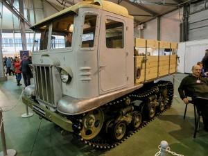 Артиллерийский тягач СТЗ-5 образца 1937 года