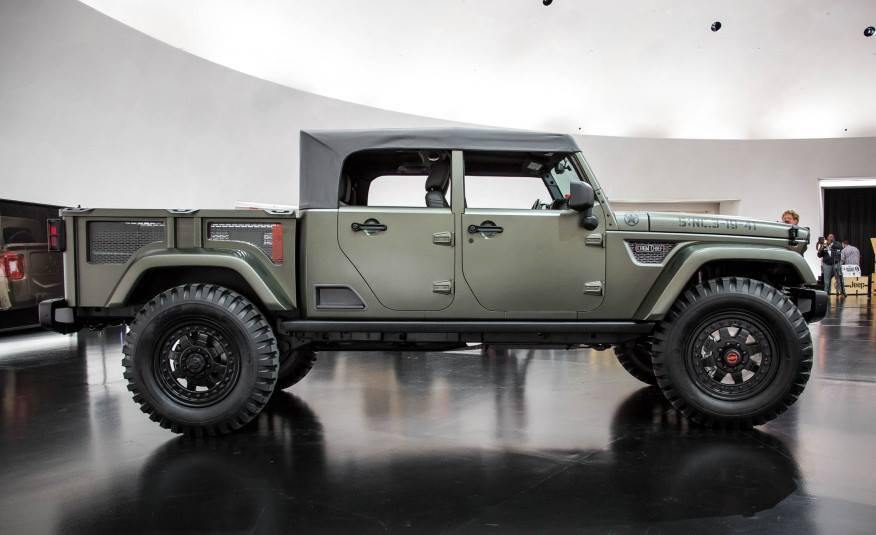 Современная интерпретация Kaiser Jeep Amsrus